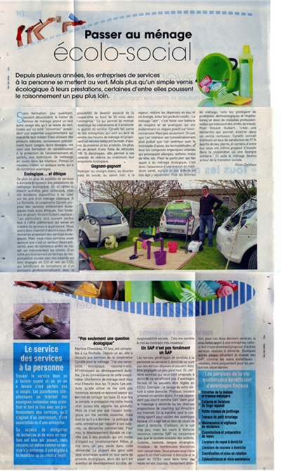 "Cpratik - Article ""Sud-Ouest"" du 26 septembre 2013"