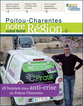 Couverture Journal Région - Une Cpratik