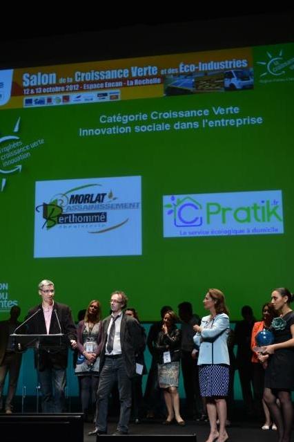Cpratik - Vincent Guibert - Lauréat 2012 Croissance Verte - Innovation Sociale et Ecologique