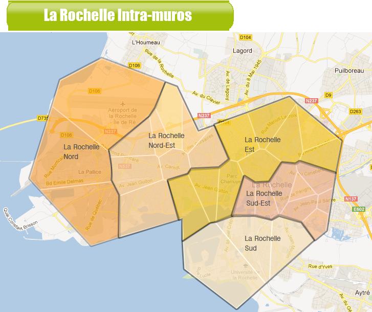 Zone La Rochelle Centre